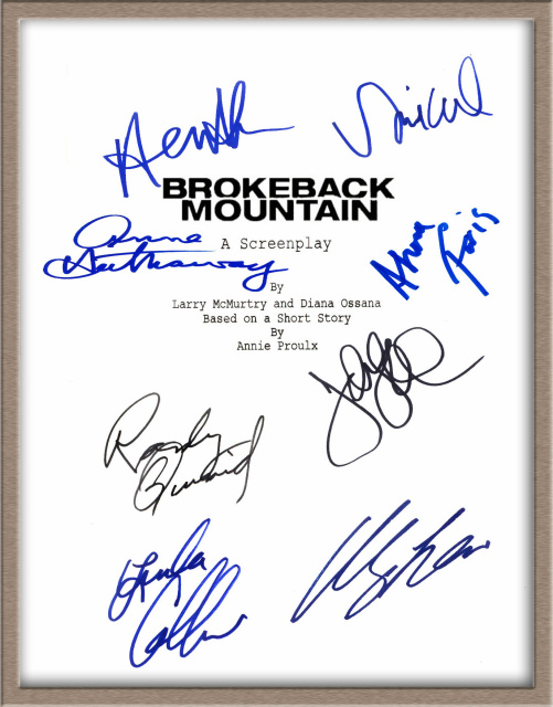 signed scripts autographed scripts for sale at the lowest prices