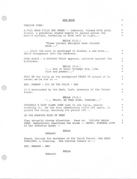 twilight movie script Twilight memorabilia 165 total items filter  best  kellan lutz signed twilight full movie script bas beckett d86636 $30699 save $25 today.